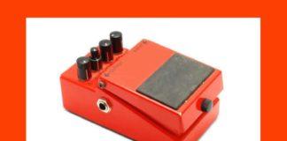 pédale de guitare électrique