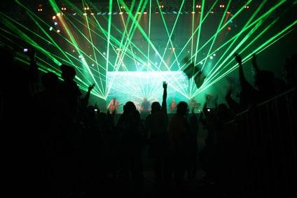 Scénographie et choix des chansons pour la tournée des stades de Muse