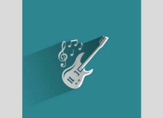 dessin guitare électrique