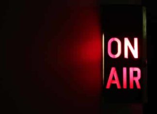On Air Sign Horizontal