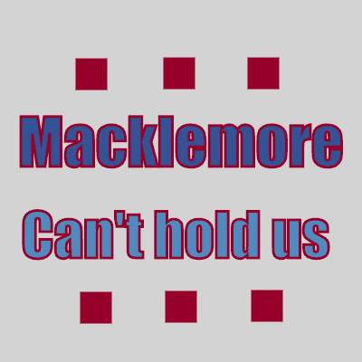 Macklemore & Ryan Lewis «Can't hold us» feat. Ray Dalton