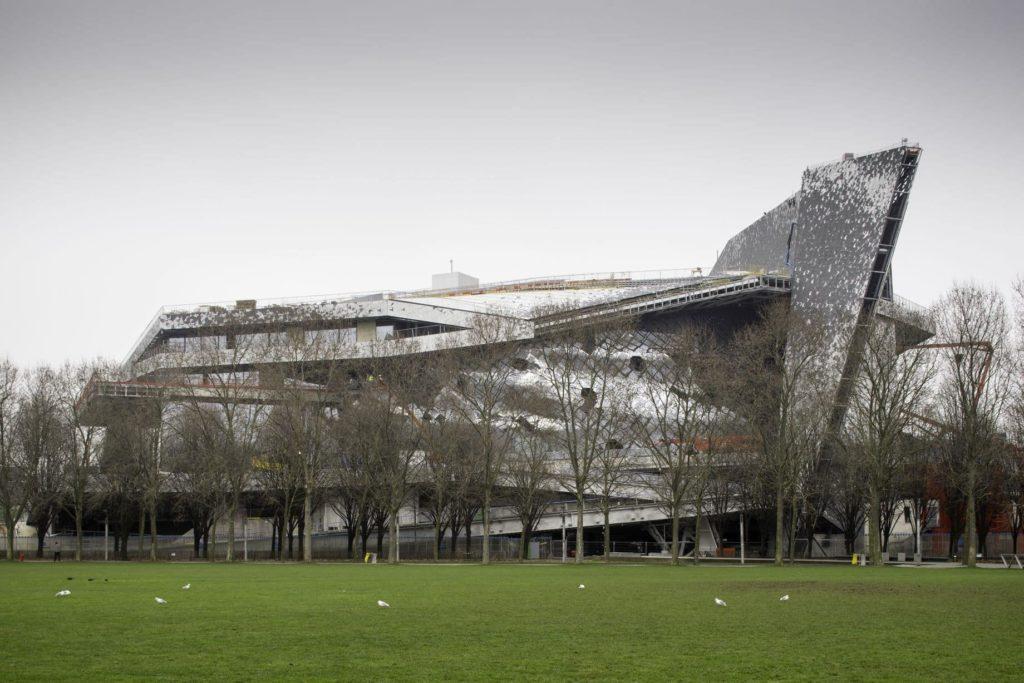 Philharmonie de Paris - Vue depuis le Parc de la Villette
