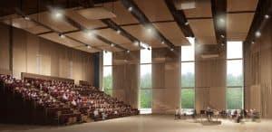 Grande salle de répétition de la Philharmonie de Paris (Jean Nouvel)