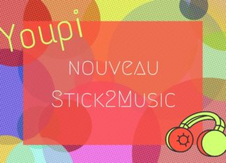 lancement Stick2Music V2 - nouvelle version