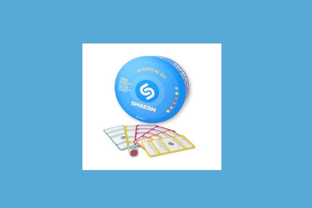Boite de jeu de quizz musical Shazam
