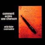 Livre de Pierre Delanoë sur Comment écrire une chanson