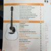 Sommaire du livre Je débute la guitare 1 - P. Heuvelinne et M. Rouvé- Ed. Hit Diffusion