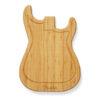 Planche à découper en forme de Stratocaster signée Fender
