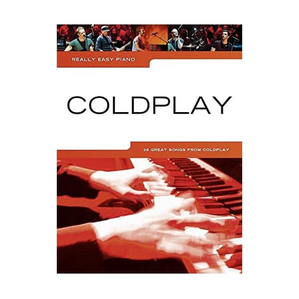 Couverture livre partitions Coldplay Really easy piano