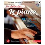 """Couverture de la méthode de piano """"Je débute le piano"""""""
