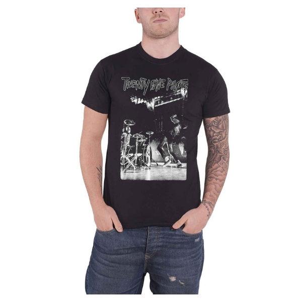 T Shirt Twenty One Pilots on stage (noir, manches courtes)