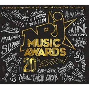 pochette coffret NRJ music awards 2018