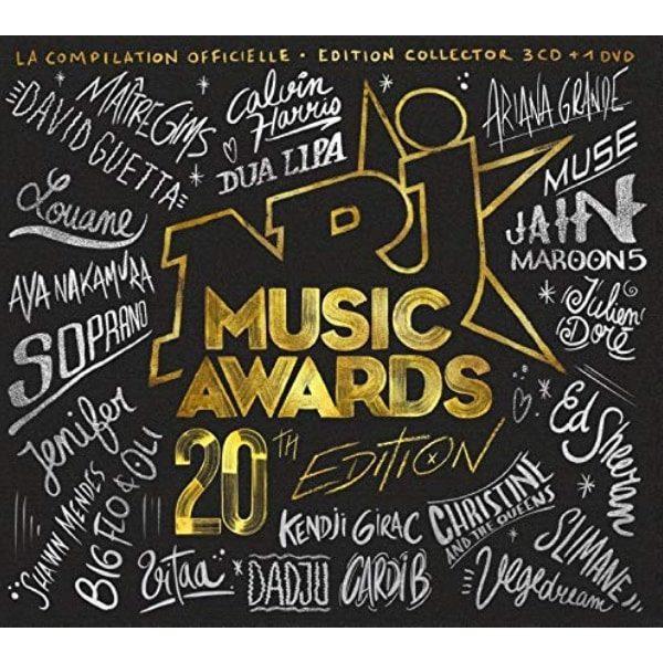 pochette coffret NRJ music awards 2018