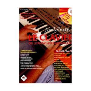 Couverture de la méthode de piano Je débute le clavier de Christophe Astié