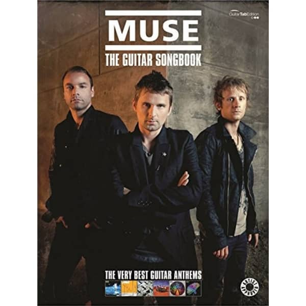 Couverture Muse The Guitar Songbook partitions