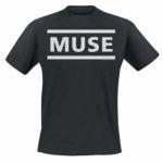 T-Shirt Muse Logo officiel noir