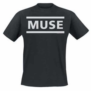 T-Shirt Muse Logo officiel noir
