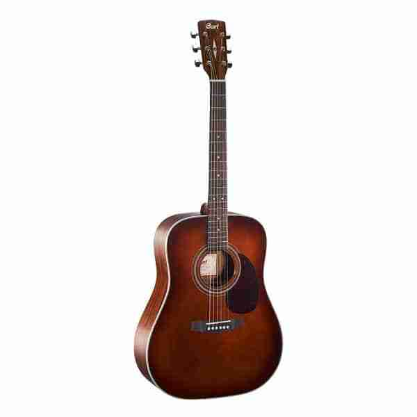 Guitare Cort earth 70 brun
