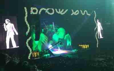 Mika en concert sur Olympia TV avec son Revelation Tour